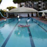 Piscina all'aperto nei mesi estivi Park Hotel Latina