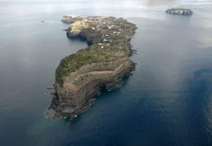 Vista aerea Ventotene