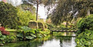 Giardino di Ninfa patrimonio della Regione Lazio