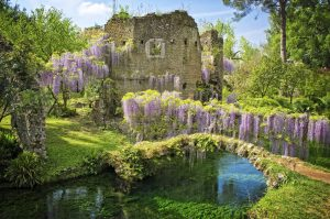 Fiumi e ruscelli nel Giardino di Ninfa